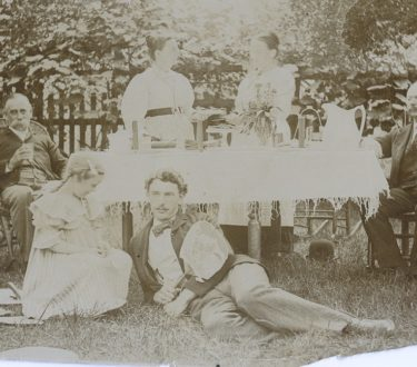 Blake Family Picnic - July 4 1900 - Our Prairie Nest