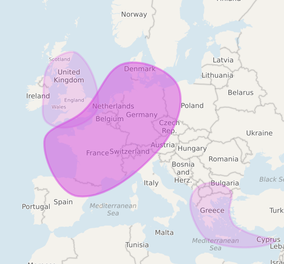 DNA Testing - A Common Sense Approach - MyHeritage ethnicity map | Our Prairie Nest