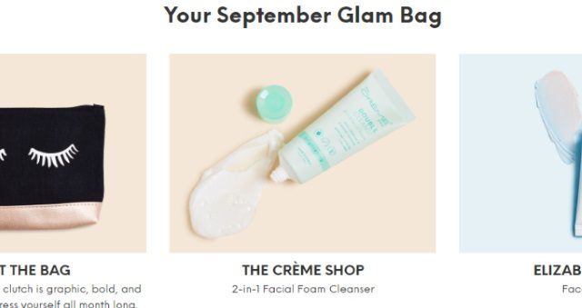 September Glam Bag | Our Prairie Nes